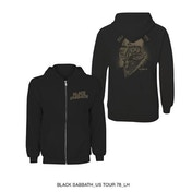 Black Sabbath - Tour 1978 Men's XXX-Large Zipped Hoodie - Black