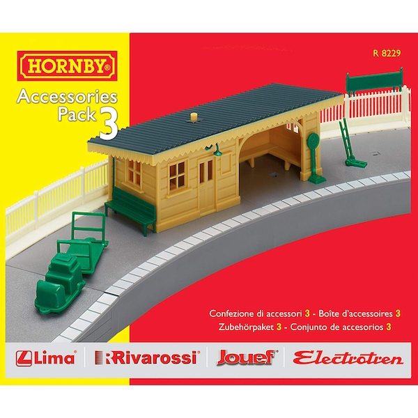 Hornby TrakMat Building Accessories Pack 3
