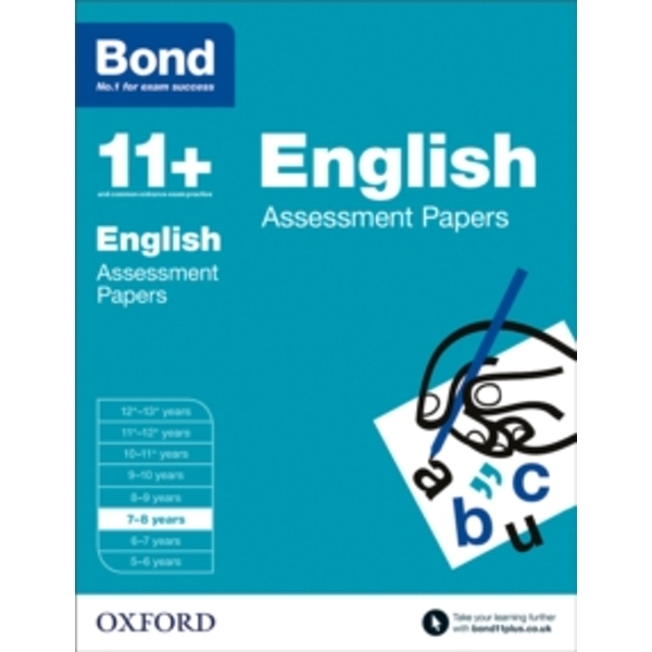Bond 11+: English: Assessment Papers: 7-8 years by Sarah Lindsay, Bond (Paperback, 2015)