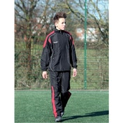 Precision Ultimate Tracksuit Jacket Black/Red/Silver 32-34