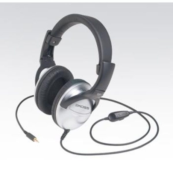 "Koss Stereo OverEar Headphone ""QZ/PRO"", Black/Silver"