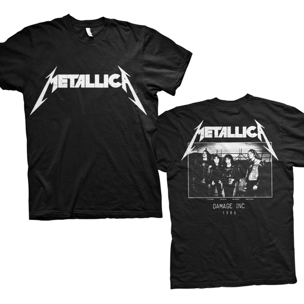 Metallica - Master of Puppets Photo Men's XX-Large T-Shirt - Black