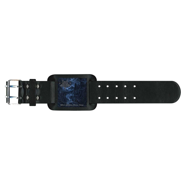 Dark Funeral - Where Shadows Forever Reign Leather Wrist Strap