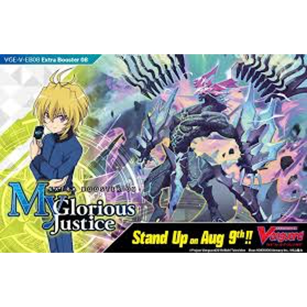 CardFight Vanguard TCG: My Glorious Justice Extra Booster Box (12 Packs)