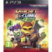 Ratchet & and Clank All 4 For One Game PS3