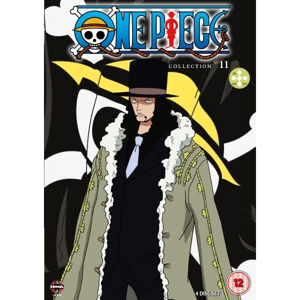 One Piece Collection 11 Episodes 253-275 DVD
