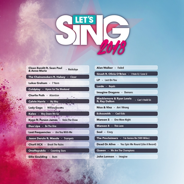 Let's Sing 1 Mic Pack Nintendo Switch Game - Image 5
