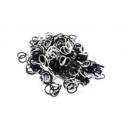 Loom Bands Black & White Scented Refill Pack 600 Pack