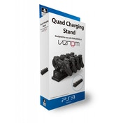 Venom Officially Licensed Quad Charging Stand (UK Plug) PS3