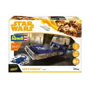 Han's Speeder (Solo - A Star Wars Story) 1:28 Revell Model Kit