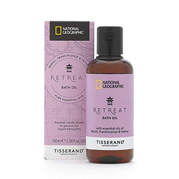 Tisserand Aromatherapy National Geographic Retreat Bath Oil 100ml