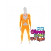 Premium Morphsuit Tuxedo Orange Glow X-Large