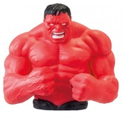 Marvel Bust Bank Red Hulk