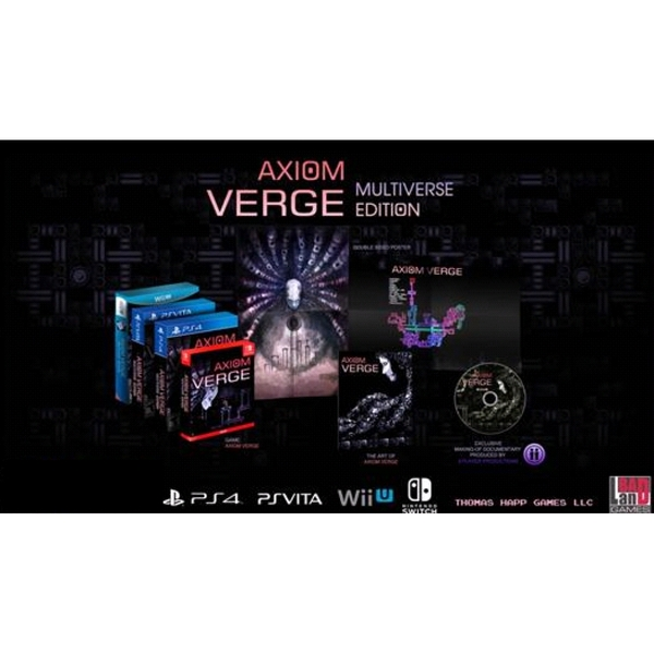 Axiom Verge Multiverse Edition Nintendo Switch Game - Image 2