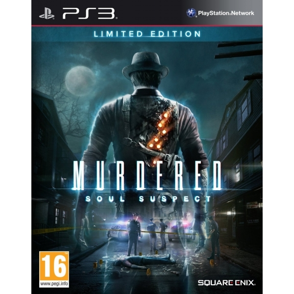 Murdered Soul Suspect Limited Edition PS3 Game
