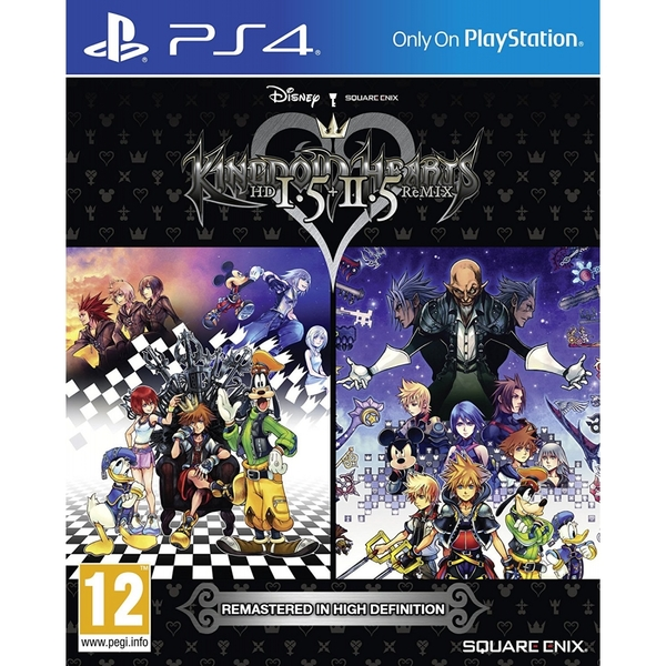 Kingdom Hearts HD 1.5 & 2.5 Remix PS4 Game - Image 1