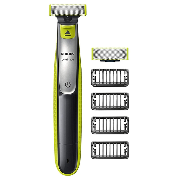 Philips QP2530/25 OneBlade Shaver with 4 Stubble Combs UK Plug