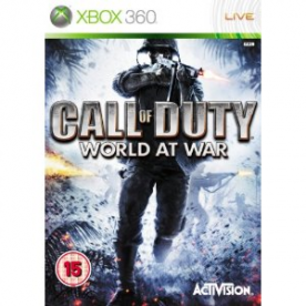Call Of Duty 5 World At War Game Xbox 360