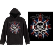 Motorhead - British Warpig Men's X-Large Pullover Hoodie - Black