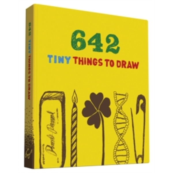 642 Tiny Things to Draw by Chronicle Books (2015, Diary)