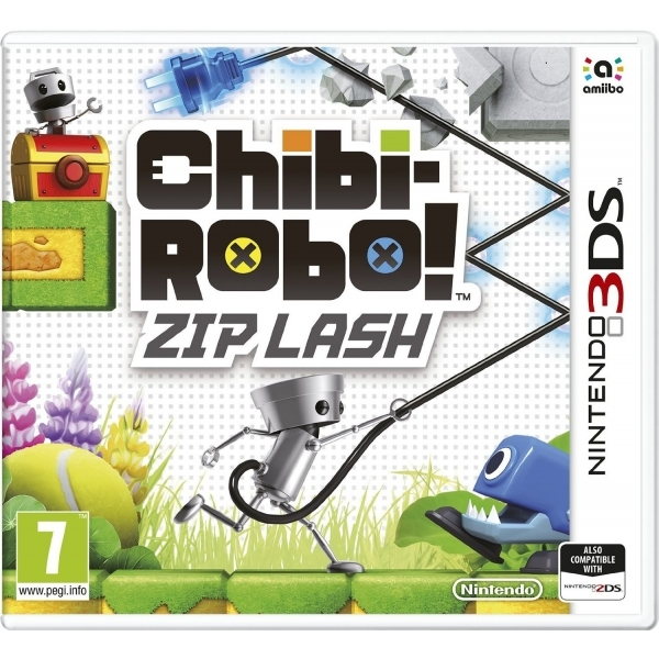 Chibi-Robo! Zip Lash 3DS Game - Image 1