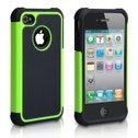 YouSave Accessories iPhone 4 / 4s Grip Combo Case - Green