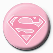 Supergirl - Pink Logo Badge