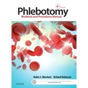 Phlebotomy: Worktext and Procedures Manual by Richard Robinson, Robin S. Warekois (Paperback, 2015)