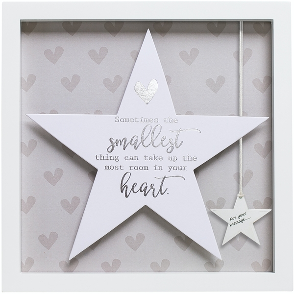 Said with Sentiment Star Frames Your Heart