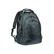 """Wenger 605500 Ibex 16"""" Backpack Slim Made From Ballistic Polyester In Black {26 Litres}"""