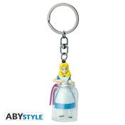 Disney - Alice In The Bottle 3D Keychain