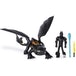 DreamWorks How To Train Your Dragon: The Hidden World Armored Toothless and Hiccup Viking Figure - Image 2
