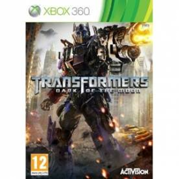 Transformers 3 III Dark of the Moon Game Xbox 360