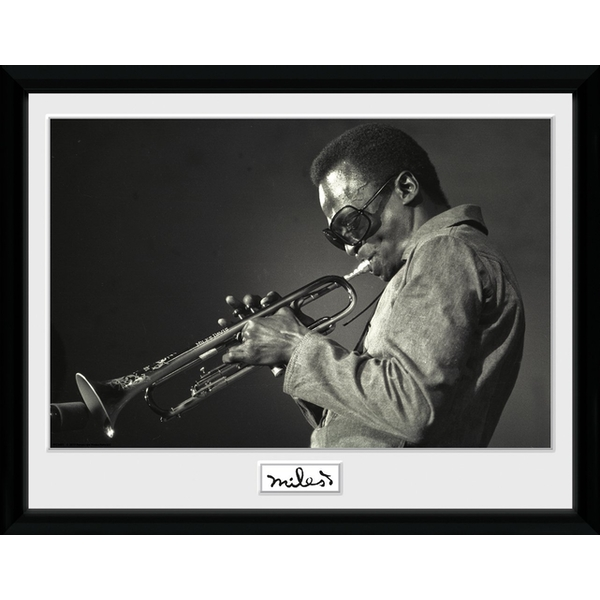 Miles Davis - Portrait Collector Print