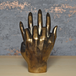 Bronze Effect Hands Entwined Ornament - Image 3