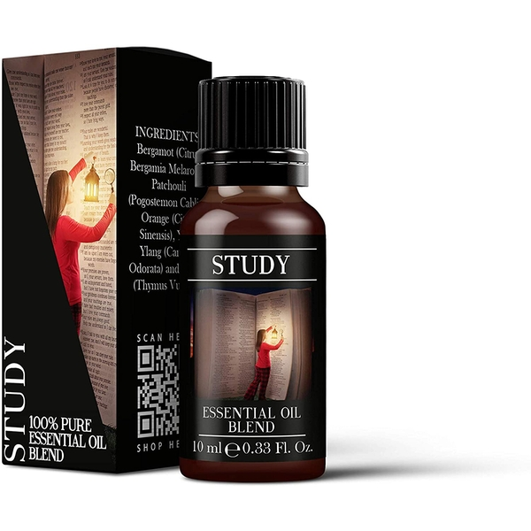 Mystic Moments Study Essential Oil Blends 10ml