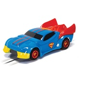 Micro Scalextric Justice League Superman Radio Controlled Car