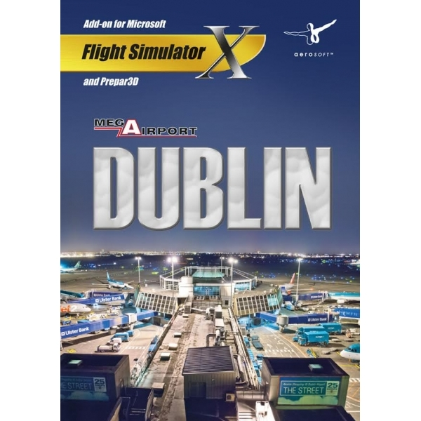 Mega Airport Dublin (For FSX) PC Game