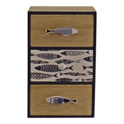 Seashore Small Chest of 3 Drawers