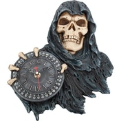 Face of Time Skull Clock