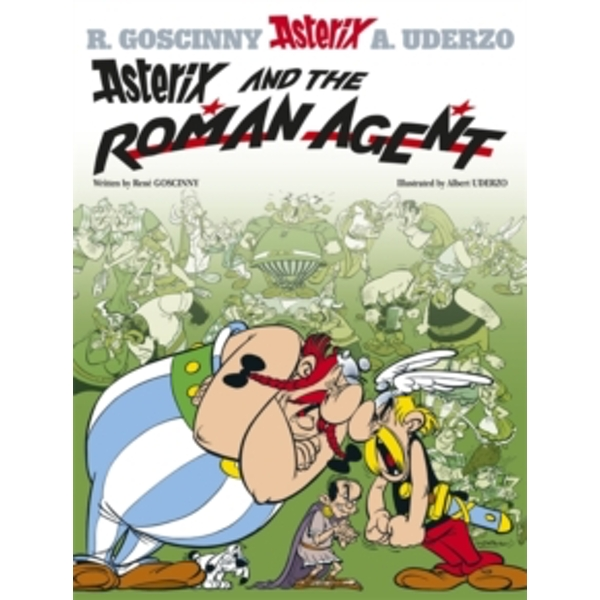Asterix and the Roman Agent: Album 15 by Rene Goscinny (Paperback, 2004)