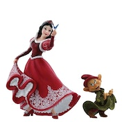 Christmas Snow White & Dopey (Disney Showcase) Figurine