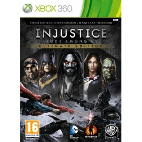Injustice Gods Among Us Ultimate Edition Game Of The Year (GOTY) Game Xbox 360