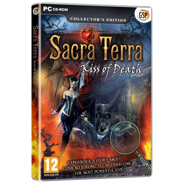 Sacra Terra Kiss of Death Collector's Edition Game PC