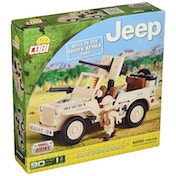 Cobi Jeep Willys MB North Africa 1943 - 90 Toy Building Bricks