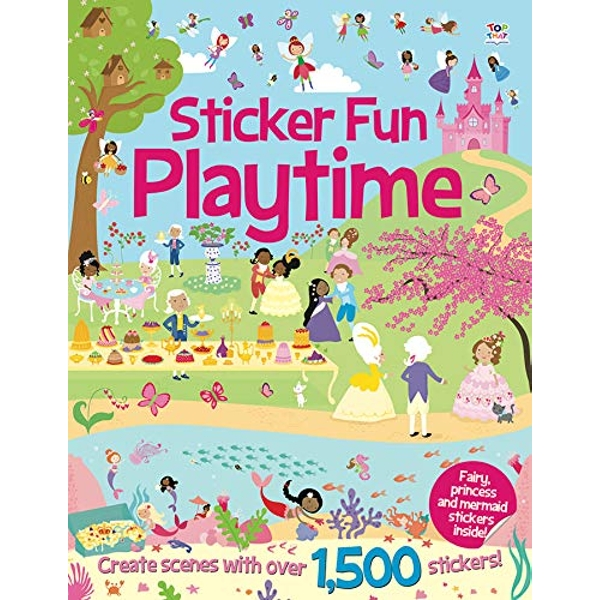 Sticker Fun Playtime  Paperback / softback 2014