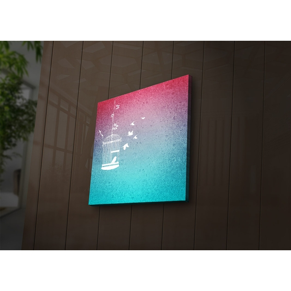 2828?ACT-33 Multicolor Decorative Led Lighted Canvas Painting