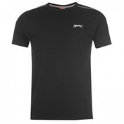 Slazenger Plain T-Shirt Medium Black
