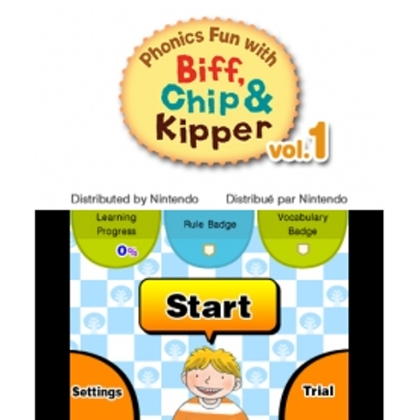 Phonics Fun with Biff, Chip & Kipper Volumes 1 3DS Game - Image 2