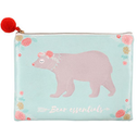 Bear Essentials Make Up Pouch
